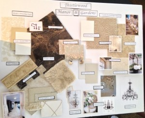 Design Board 2-Bride & Ballroom
