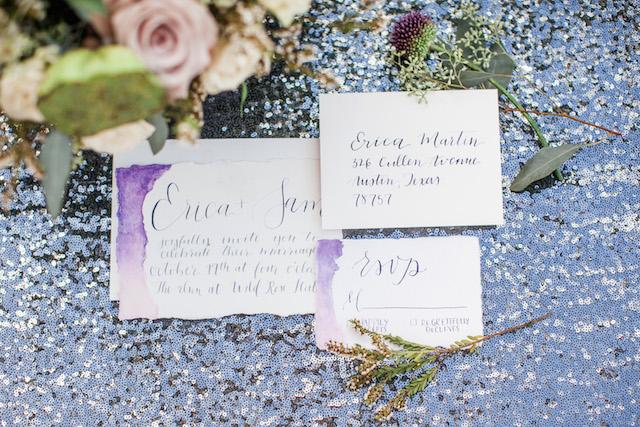 purple-silver-wedding